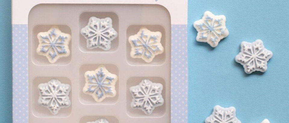 סוכריות לקישוט - פתיתי שלג