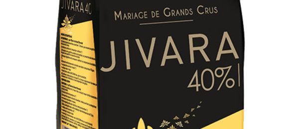 "JIVARA 40% שוקולד חלב - 1 ק""ג"