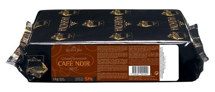 """שוקולד קפה 1 ק""""ג Valrhona"""
