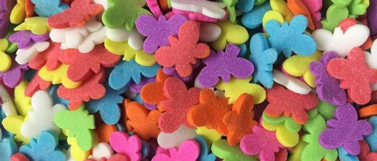 סוכריות פרפרים - צבעוני