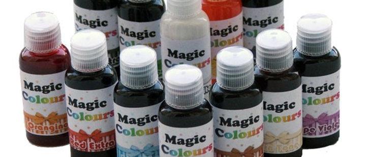 צבע מאכל ג'ל מג'יק - MAGIC COLOURS - כל הצבעים