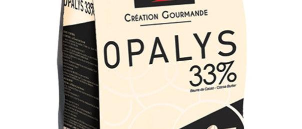"OPALYA 33% שוקולד לבן-לבן -1 ק""ג"