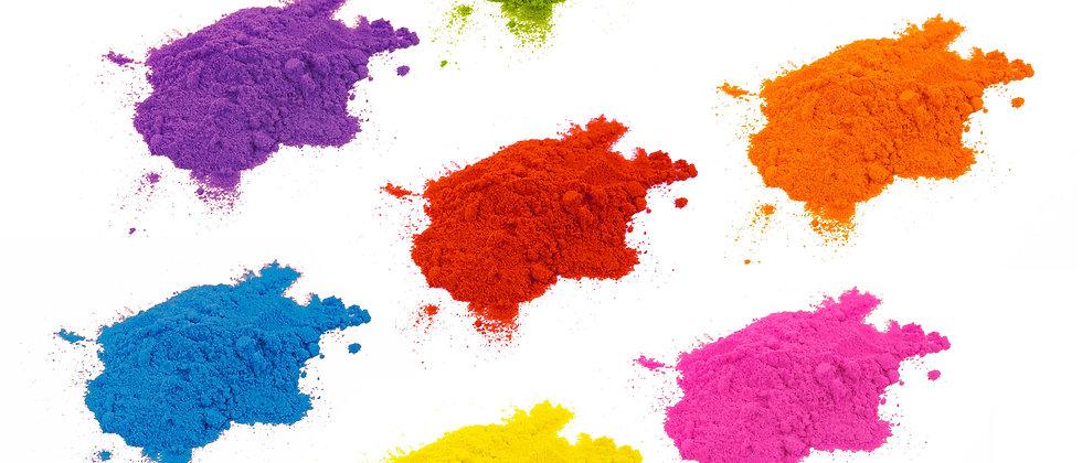 """צבע מאכל אבקה לשוקולד במגוון צבעים - 10 סמ""""ק"""