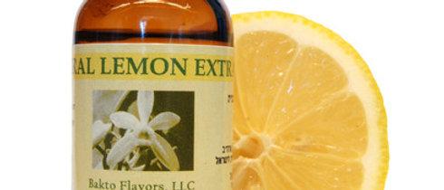 """תמצית לימון טבעית 29 מ""""ל"""