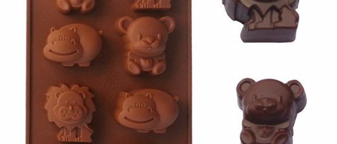 סיליקון לשוקולד - חיות