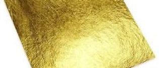 """דפי זהב לקישוט וציפוי 14*15 ס""""מ - 10 יחידות"""
