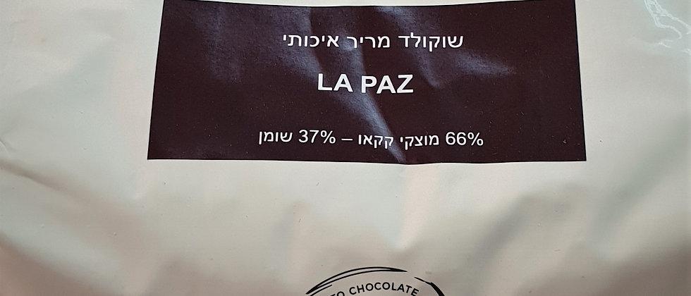 """שוקולד מריר 66% - 2 ק""""ג - DLA"""