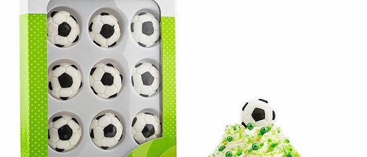 סוכריות לקישוט - כדורגל