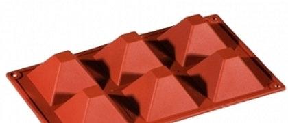 תבנית סיליקון - פירמידה - קטן \ גדול