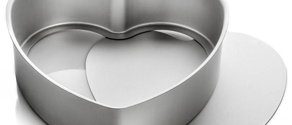 """תבנית לב נשלפת 26 ס""""מ - ANODIZE"""