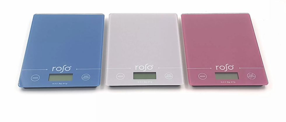 """משקל דיגיטלי עד 5 ק""""ג - ROSO"""