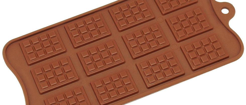 תבנית סיליקון -מיני טבלית שוקולד