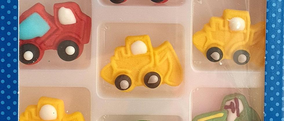 סוכריות לקישוט - משאית/טרקטור
