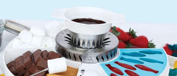 מכשיר להכנת סוכריות גומי   פונדו   מרשמלו סמורס - ג'ליגם
