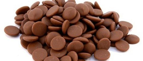 """שוקולד חלב לובקה 35% - 1 ק""""ג"""