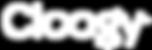 Cloogy logo white