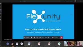 Flexunity Webinar on Blockchains in the Energy Sector