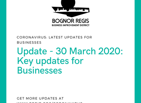 BR BID Coronavirus Update: Monday 30th March 2020