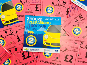 Two Hour Car Parking Discs for 2021 on sale next week