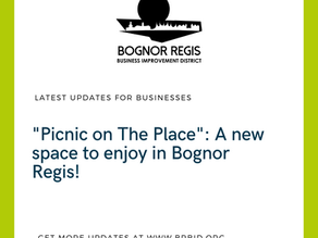 """""""Picnic on the Place"""":  A new space to enjoy in Bognor Regis!"""