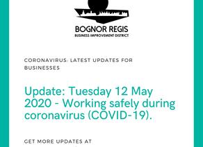 BID Update 12.05.20: Working safely during coronavirus (COVID-19)