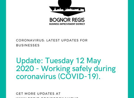 BID Update 12.05.20: Working safely during coronavirus (COVID-19)
