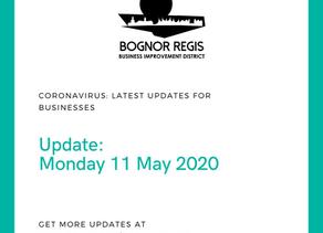 BID Update: Monday 11 May 2020