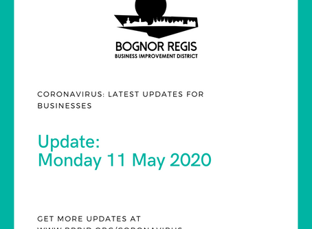 BID Update: Monday 11 May 2020