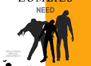 Day 6 ~ Zombies need Chiropractors too!