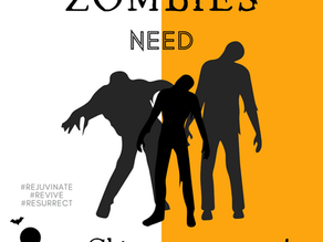 Day 6 ~ Zombies need Chiropractors too!