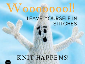 Day 5 ~ Woooooool! Leave Yourself in Stitches - Knit Happens!
