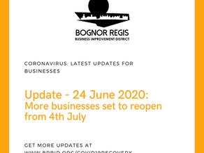 BR BID Coronavirus Update: 24 June 2020