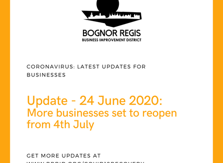 BR BID Coronavirus Update: 24 June 2020