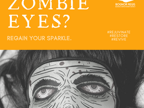 Day 17 ~ Zombie Eyes? Regain your Sparkle.