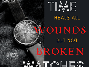 Day 15 ~ Time Heals all Wounds but Not Broken Watches