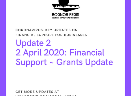 BR BID Coronavirus Update 2: Thursday 2 April 2020