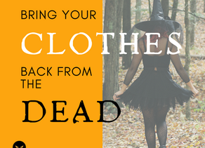 Day 1 ~ Bring Your Clothes Back From The Dead