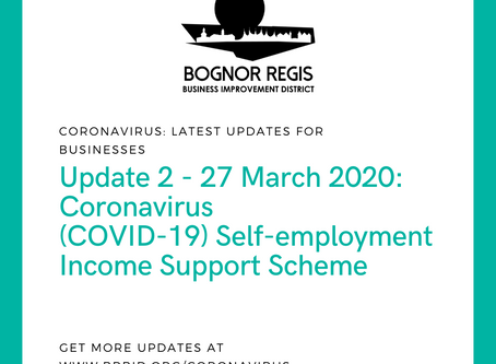 BR BID Coronavirus Update 2: Friday 27th March 2020