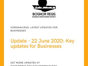 BR BID Coronavirus Update: 22 June 2020