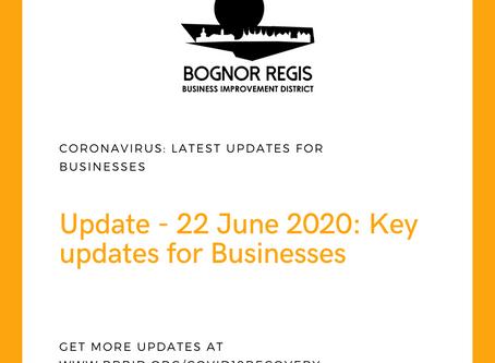 BR BID Coronavirus Update: 22 June 2020