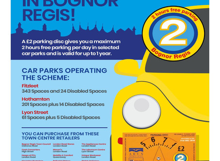 Parking Disc 2020 - Expression of Interest