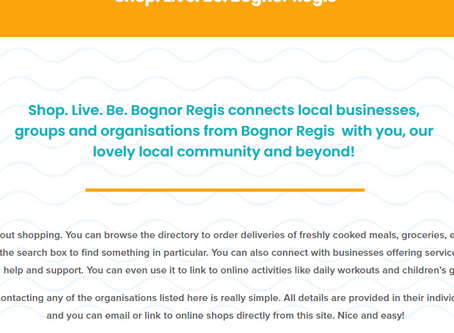 Shop. Live. Be. Bognor Regis