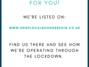 Keep your business in people's minds - even if your doors are closed