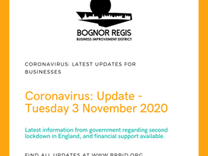 BR BID Update Tuesday 3 November 2020