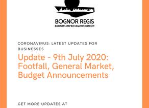 BR BID Update: Thursday 9th July 2020