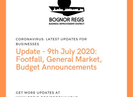 BR BID Update: Thursday 9th July 2020