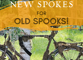 Day 4 ~ New Spokes for Old Spooks!