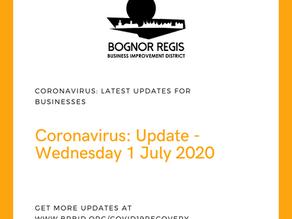 BR BID Update Wednesday 1st July 2020