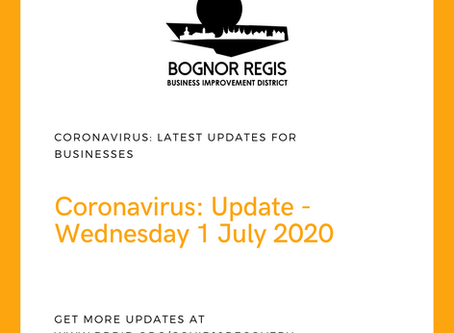 BR BID Update Wednesday 1st July 2020