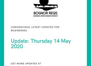 BR BID Coronavirus Update: Thursday 14 May 2020